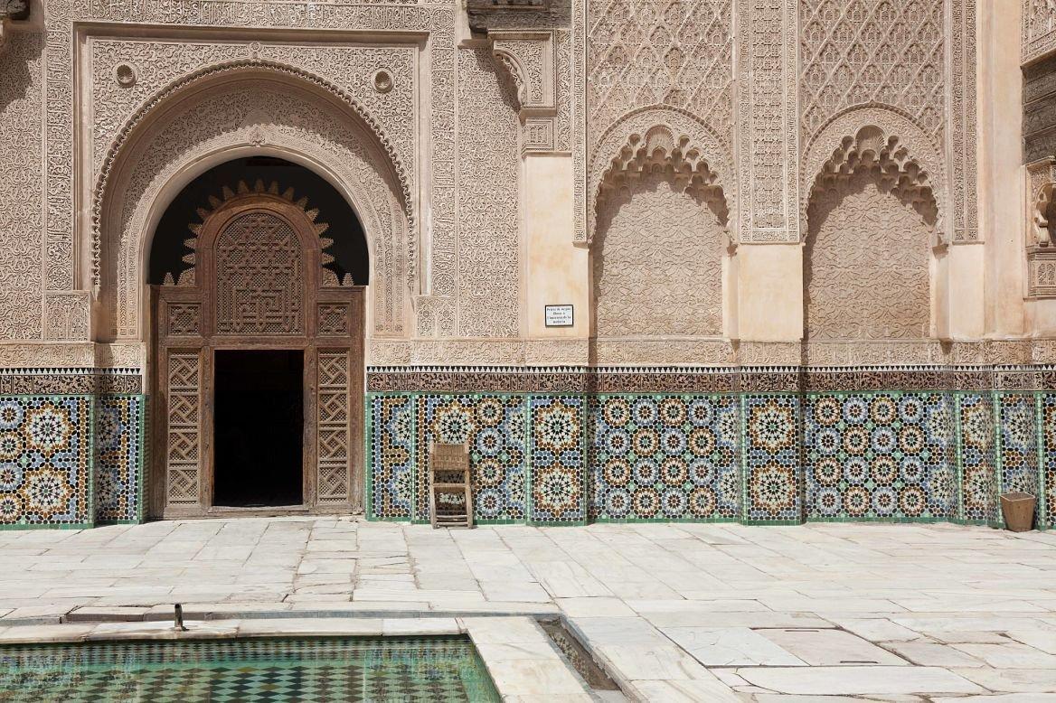 Medersa Ben Youssef, Marrakech, Maroc