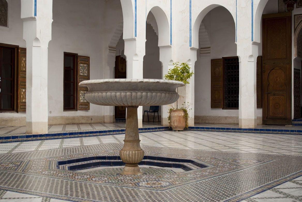 Palais de la Bahia, Marrakech, Maroc