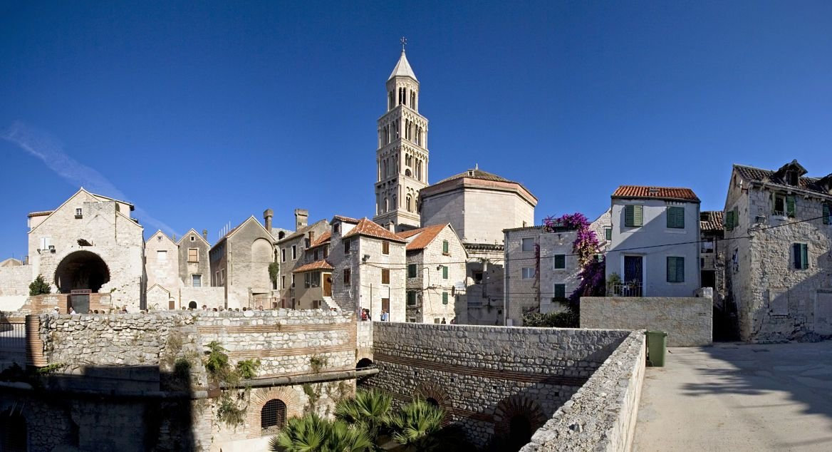 Le palais de Dioclétien, Split, Croatie
