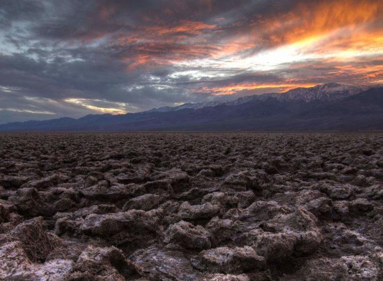 Devil's Golf Course, Death Valley National Park, États-Unis ouest américain