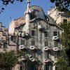 Casa Battlo de Gaudi, Barcelone, Espagne
