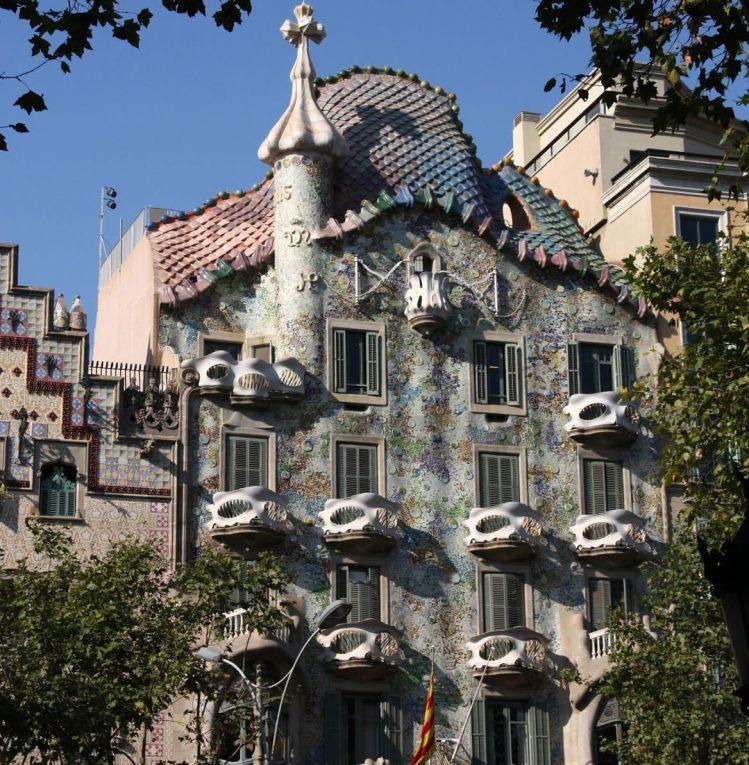 Casa Battlo de Gaudi, incontournables, Espagne