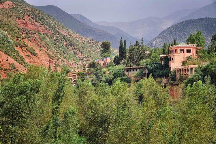 Vallée de l'Ourika, Marrakech, Maroc