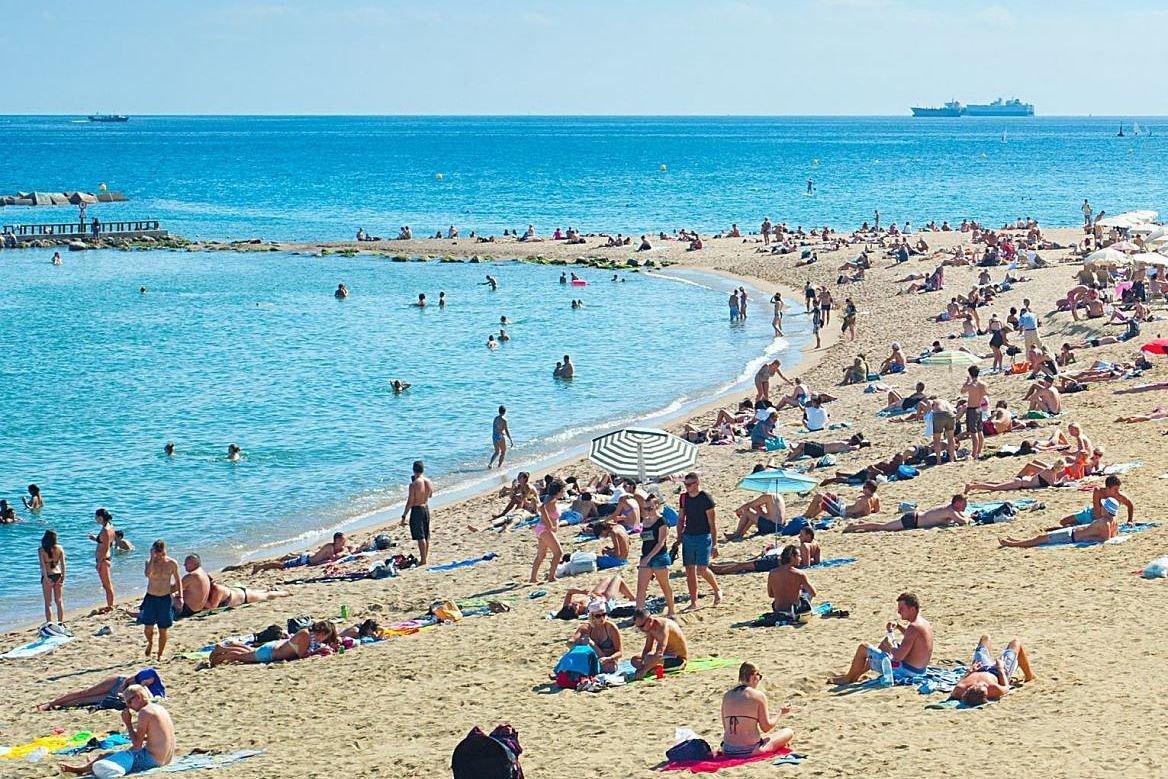 Plage à Barcelone, Espagne ©joyfull/Shutterstock