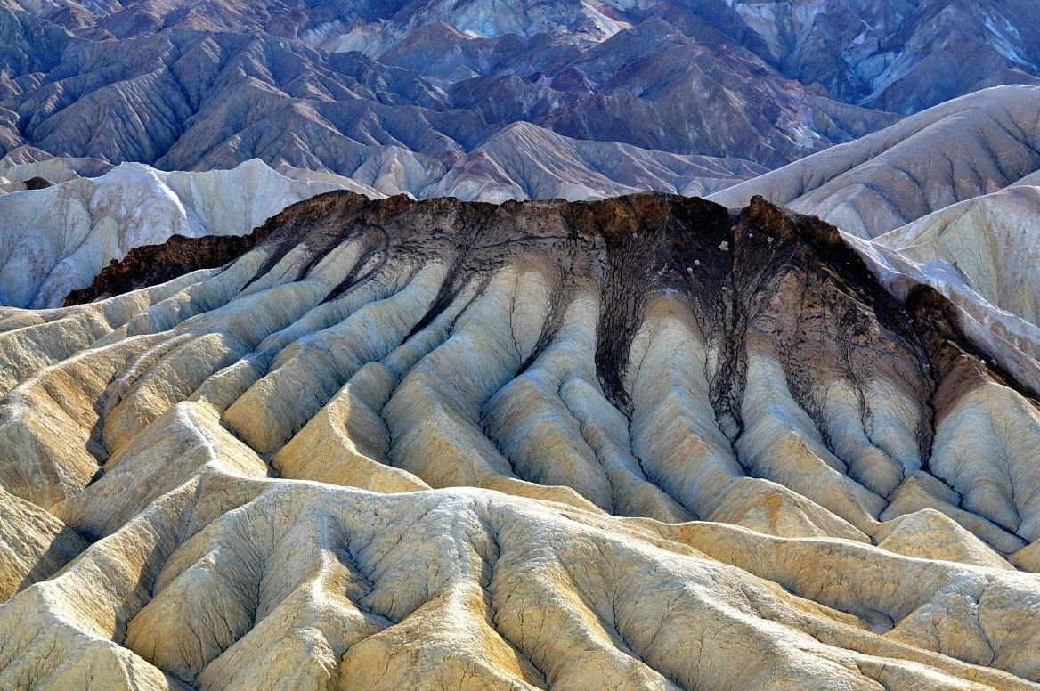 Zabriskie Point, Death Valley, États-Unis