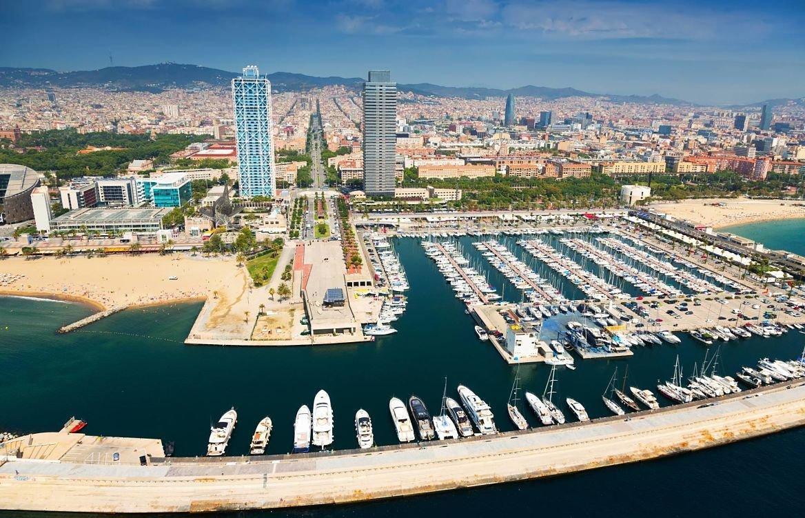 Port Olimpic, Barcelone, Espagne