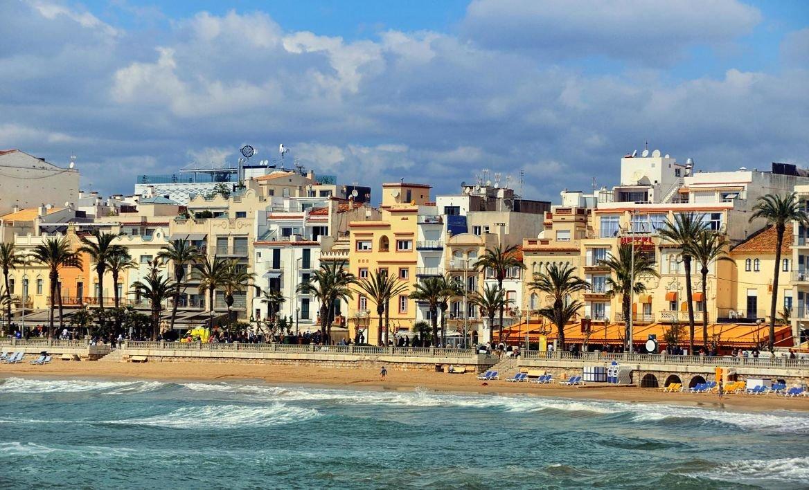 Sitges, Côte de la Dorade, Espagne