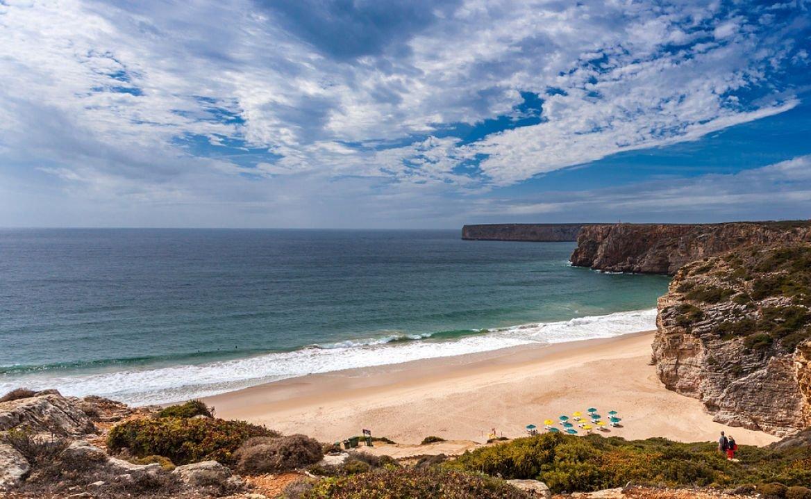 La plage de Beliche, Sagrès, Algarve, Portugal