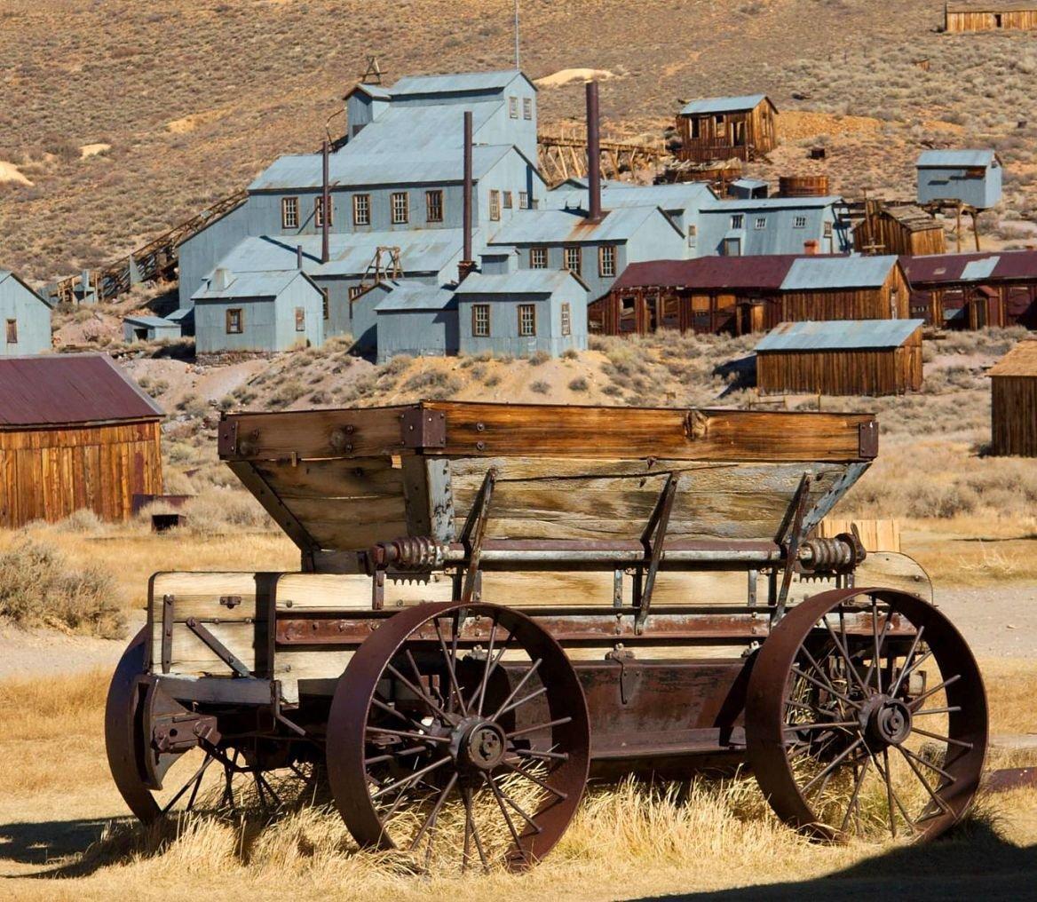 Ville fantôme de Bodie, Californie, États-Unis