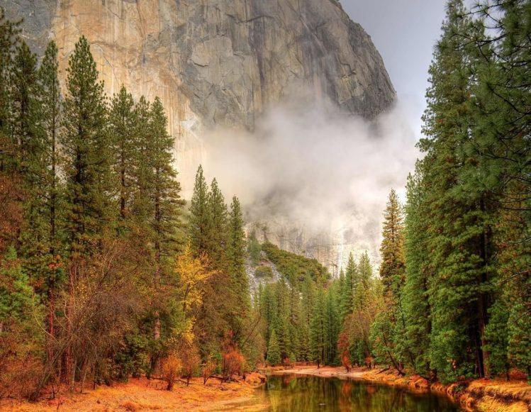 Yosemite National Park , États-Unis parc nationaux ouest américains baigner