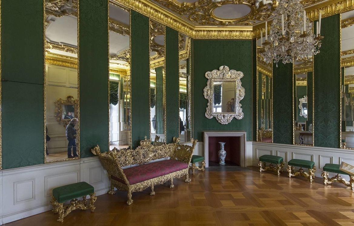 Intérieur du Palais de Charlottenburg, Berlin, Allemagne