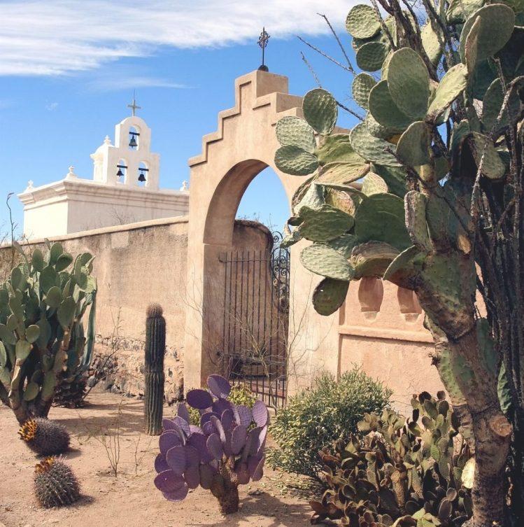 Mission San Xavier del Bac, Arizona, États-Unis ouest américain