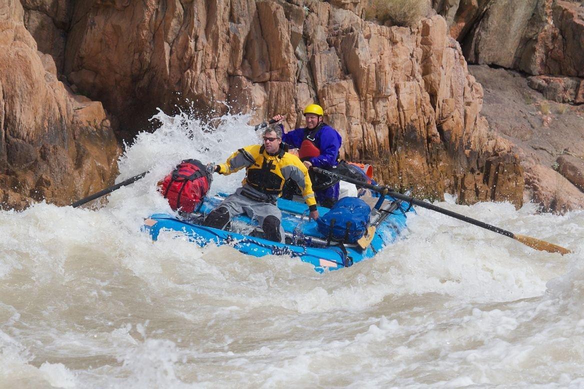 Rafting sur le Colorado, États-Unis