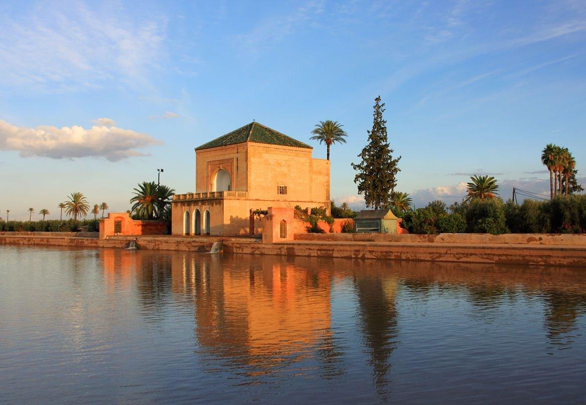 Le jardin de la Ménara, Marrakech, Maroc