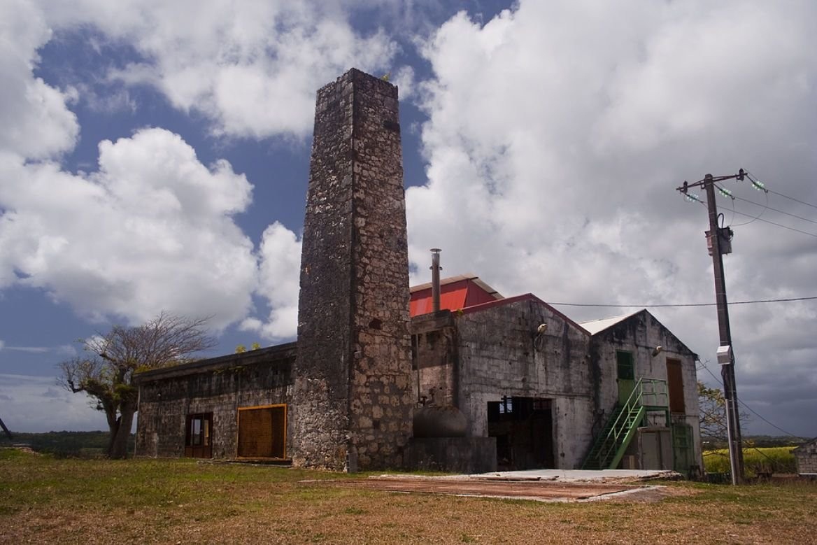Ancienne distillerie, Marie Galante, Guadeloupe