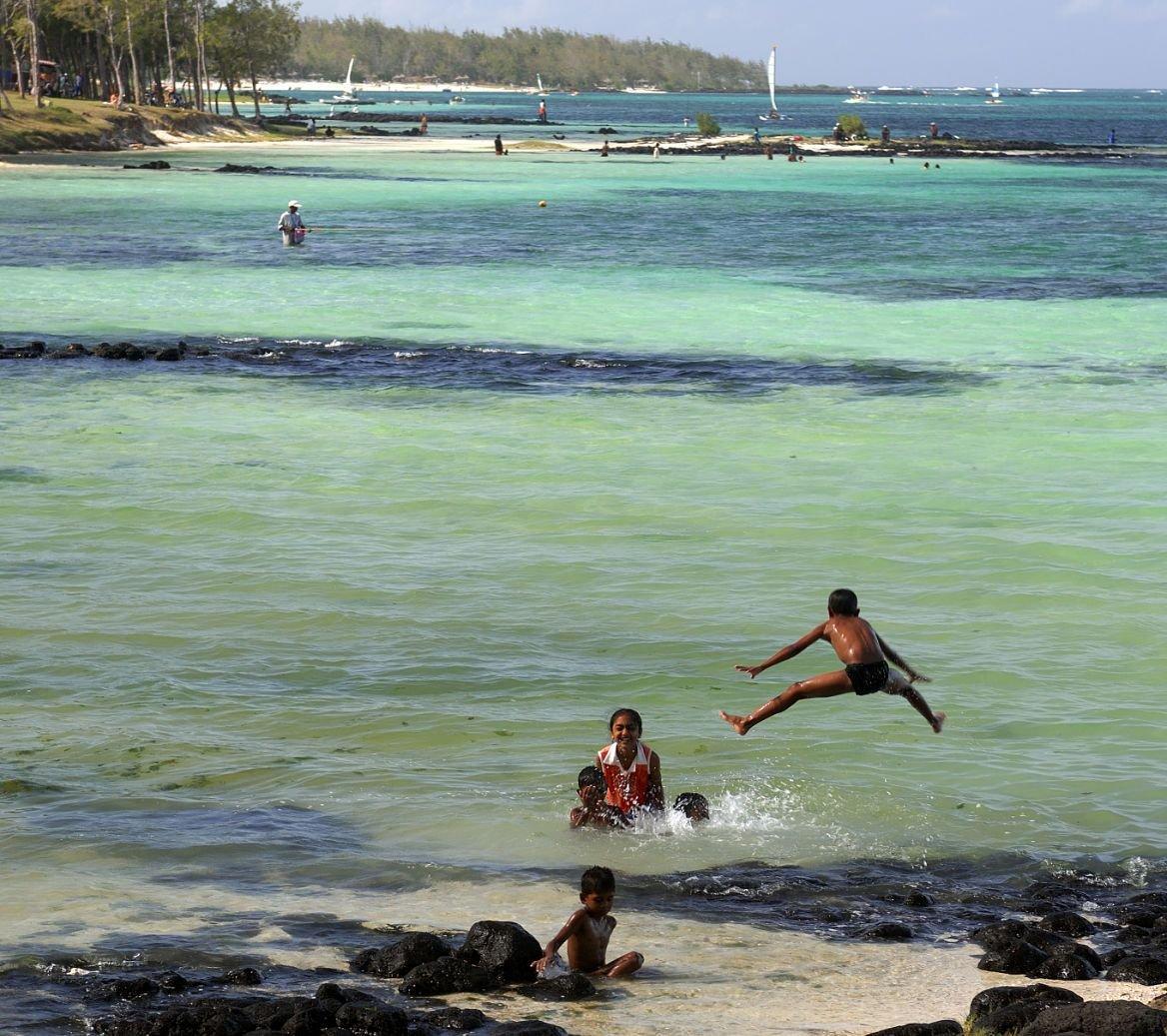 Plage de Belle Mare, Île Maurice