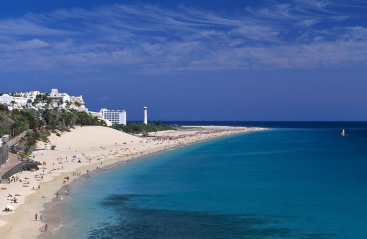 Peninsula de Jandia, plage, Fuerteventura, Canaries, Espagne