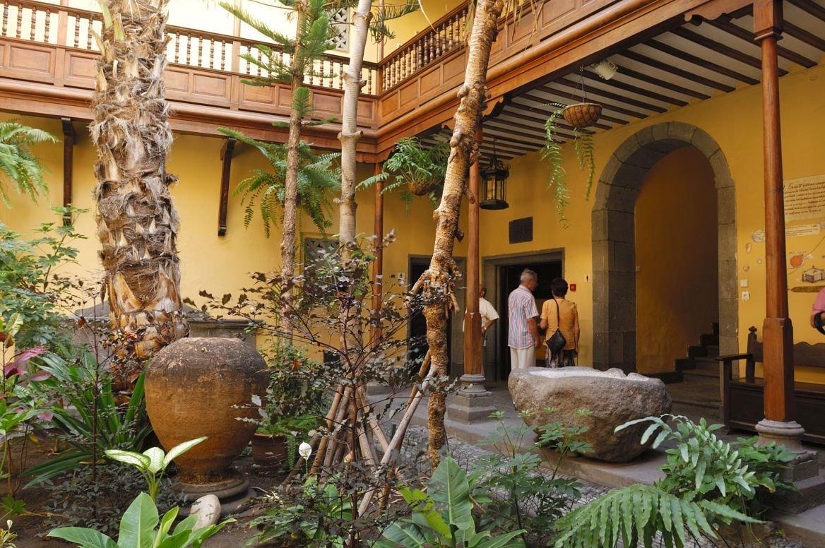 Casa de Colón à Las Palmas, Fuerteventura, Canaries, Espagne