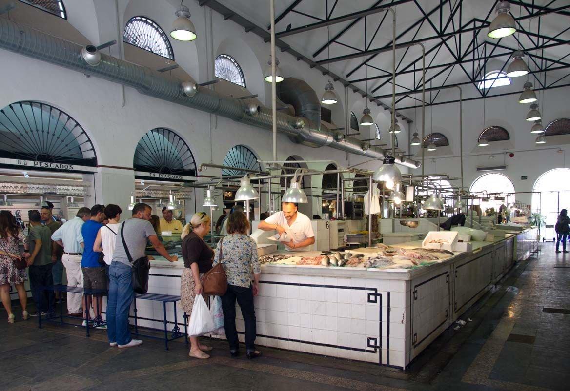 séville calle feria marché