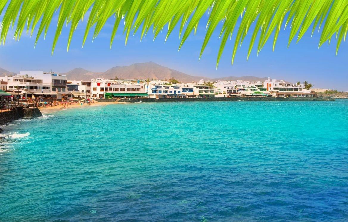 Playa Blanca, île de Lanzarote, Canaries, Espagne