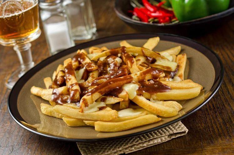 Poutine spécialités gastronomie québec