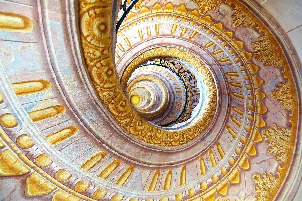 Escalier de l'abbaye de Melk, Autriche, Vienne