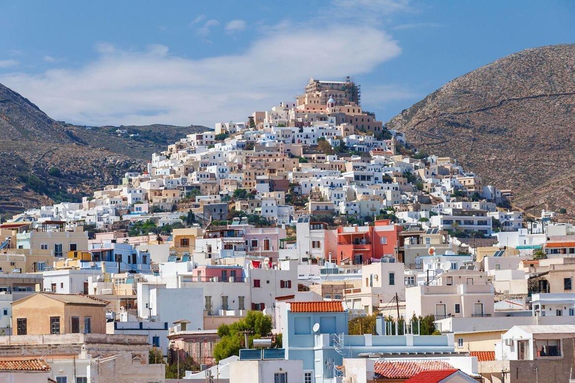 Emoupolis, Syros, Grèce