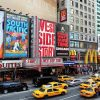 Broadway Theater District, New York, Etats-Unis