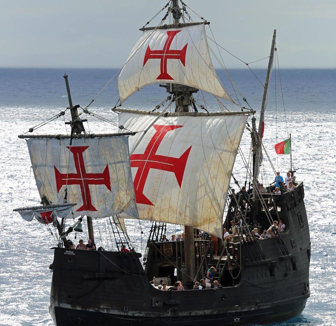 Réplique du Santa Maria, bateau de Christophe Colomb, Madère