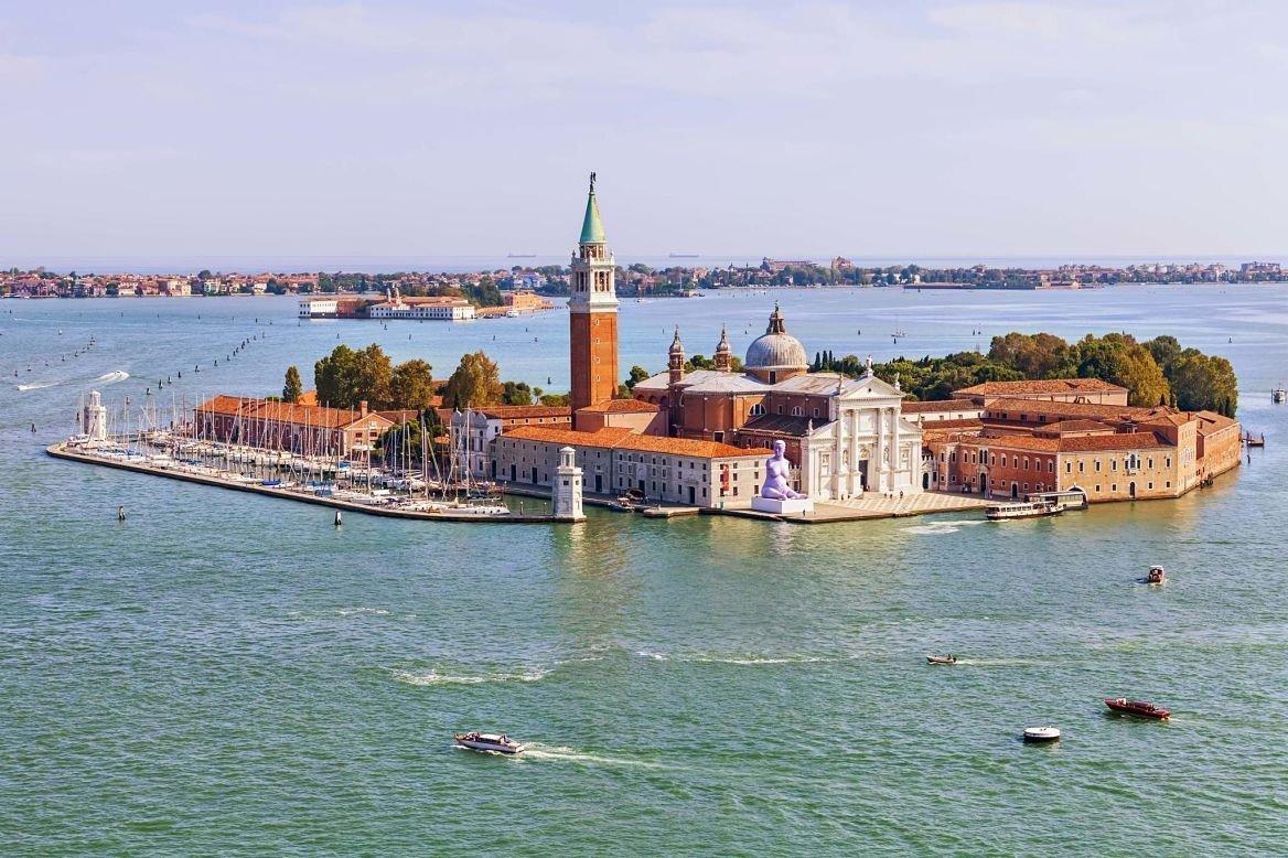 île de San Giorgio Maggiore, Venise, Italie