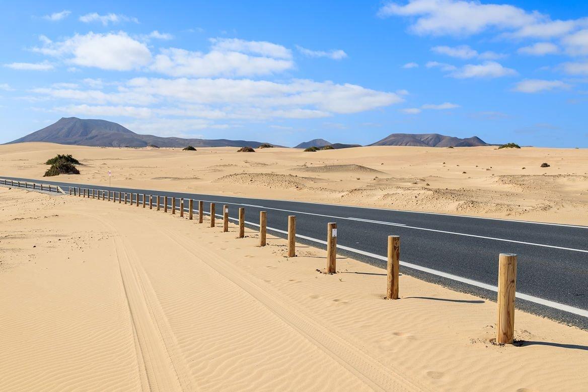 Parque Natural de las dunas de Corralejo, île de Corralejo, Canaries, Espagne