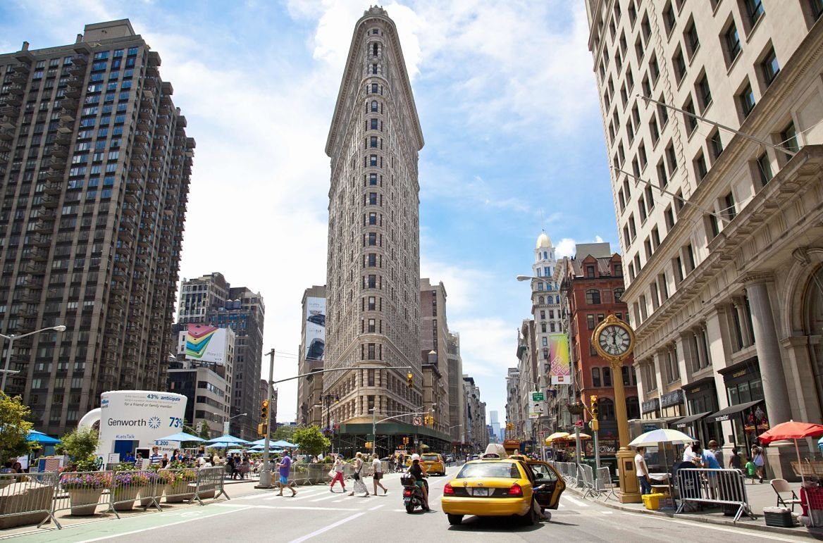Flatiron building, New York, Etats-Unis