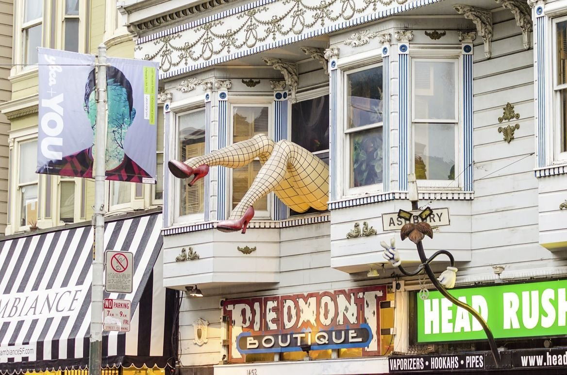 Haight-Ashbury district, San Francisco, États-Unis