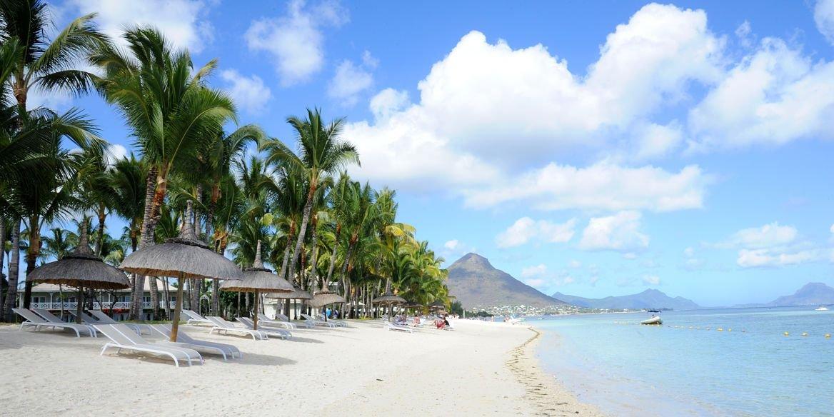 Plage flic en flac, Île Maurice