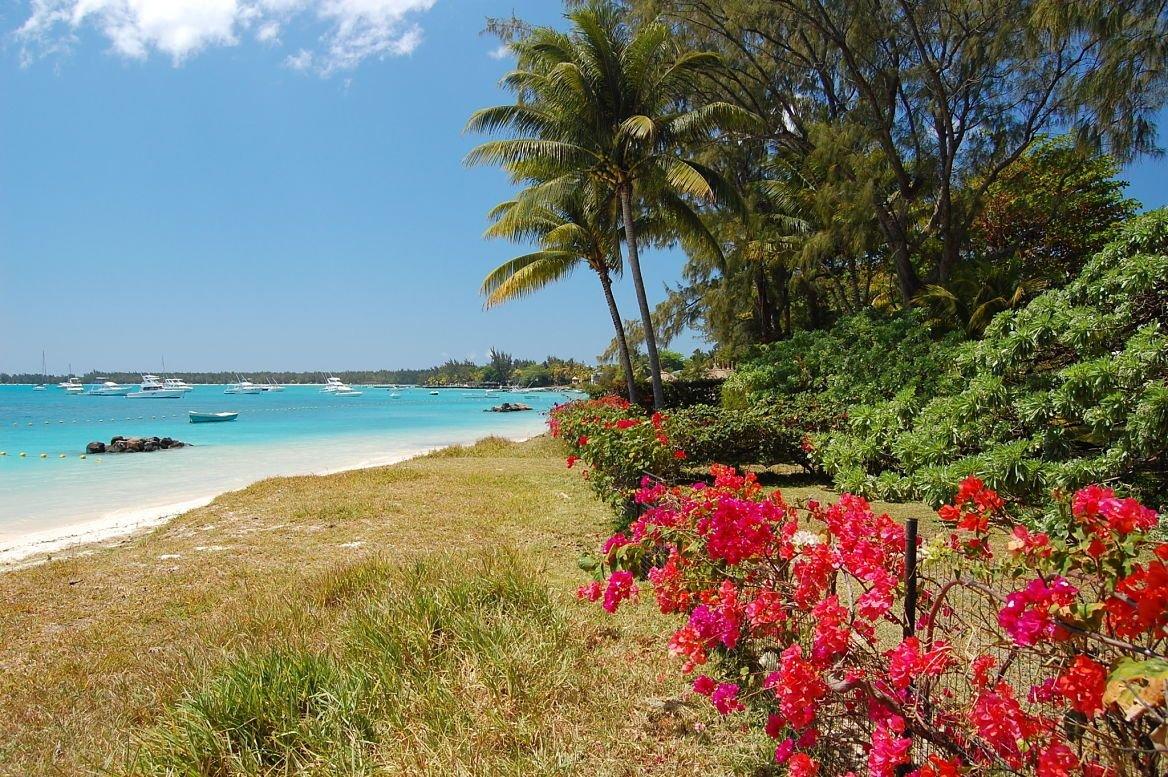La plage du Trou aux cerfs, Île Maurice
