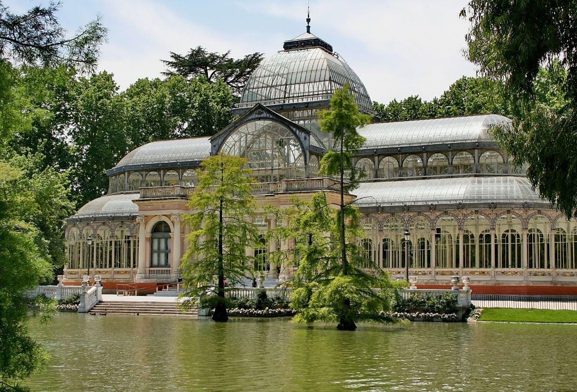 Parc du Retina et Palais de cristal, Madrid, Espagne