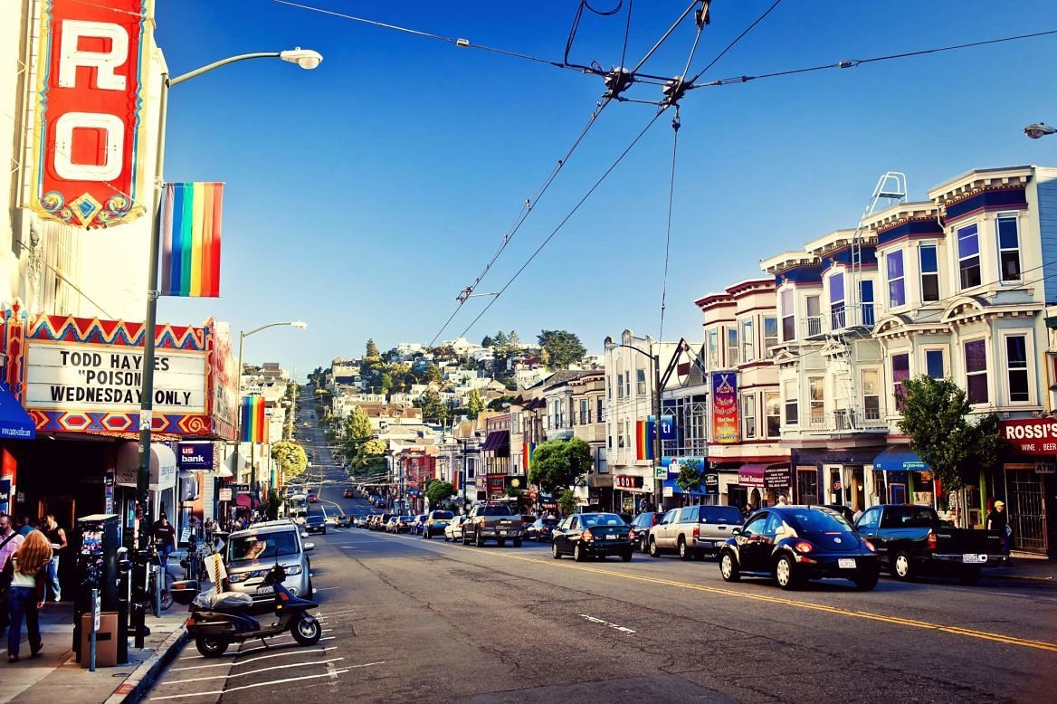 Castro district, San Francisco, États-Unis