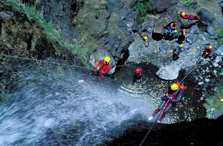 La Réunion canyoning cilaos