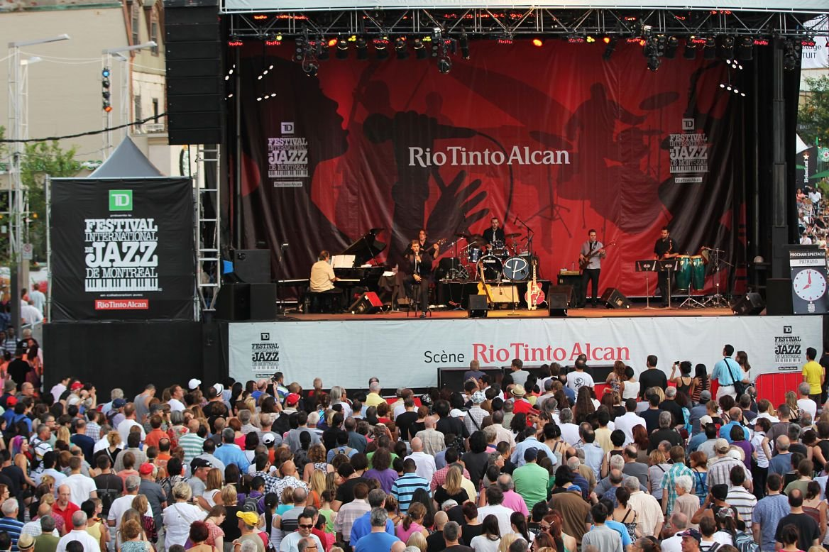 Festival du Jazz à Montréal, Québec