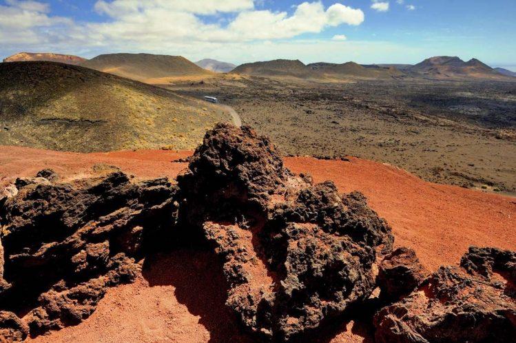 lanzarote montanas del fuego timanfaya, Îles Canaries