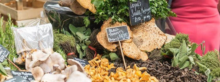 Les meilleurs marchés gourmets de Londres