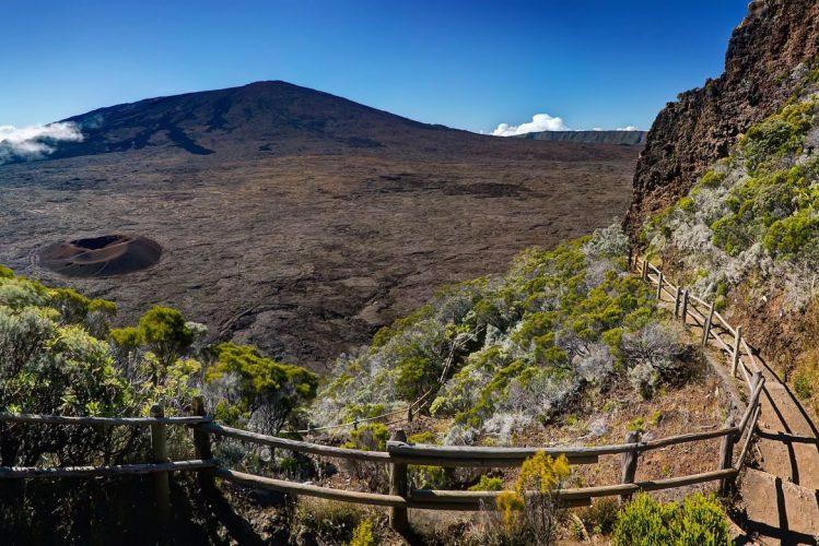 piton de la fournaise, randonnée, La Réunion