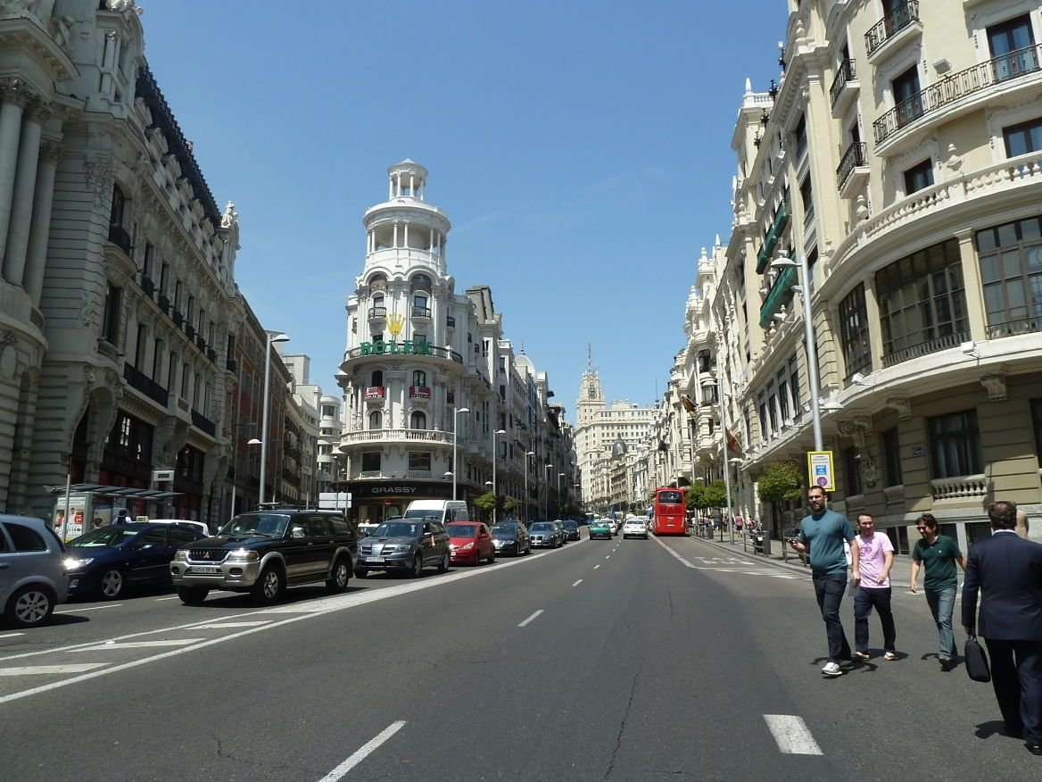 Gran Via ©Jean Tiffon