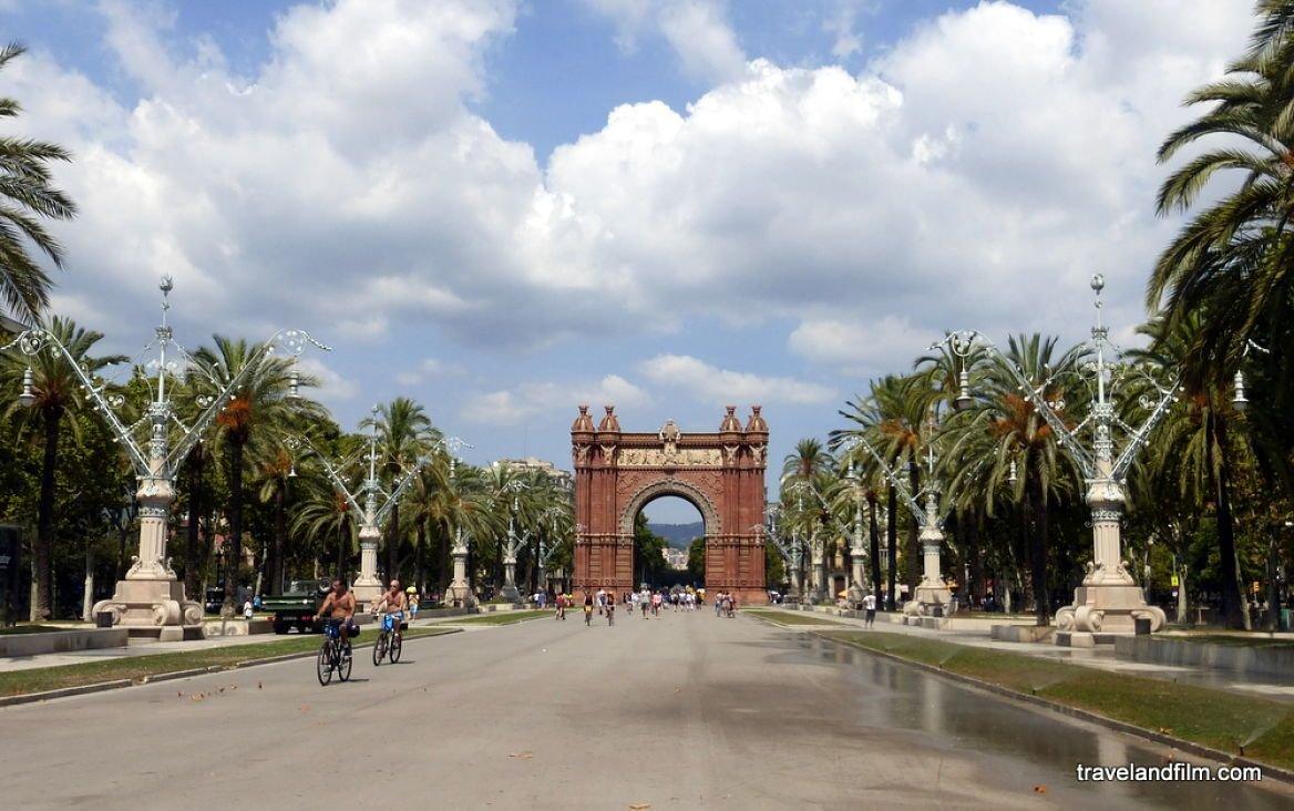 Arc de Triomphe ©Emily de Travel and Film