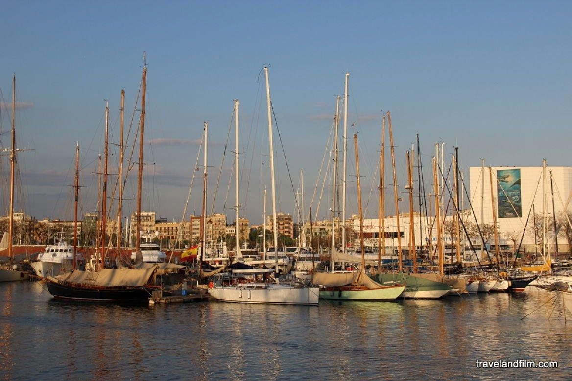 Port Olympique ©Emily de Travel and Film