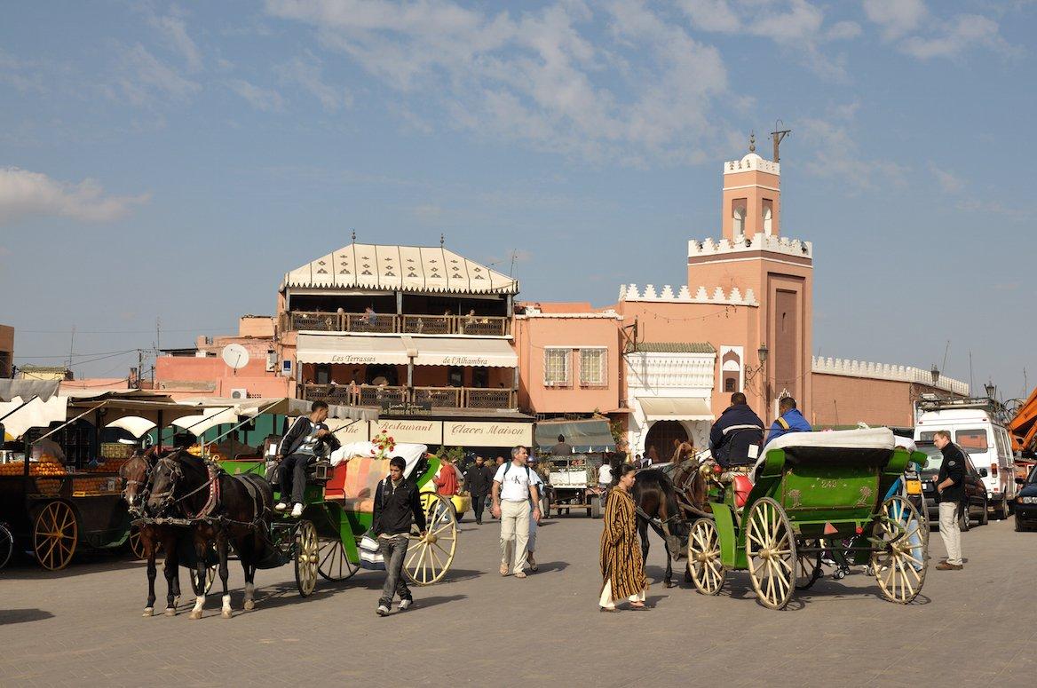 Place Jemaâ-el-Fna