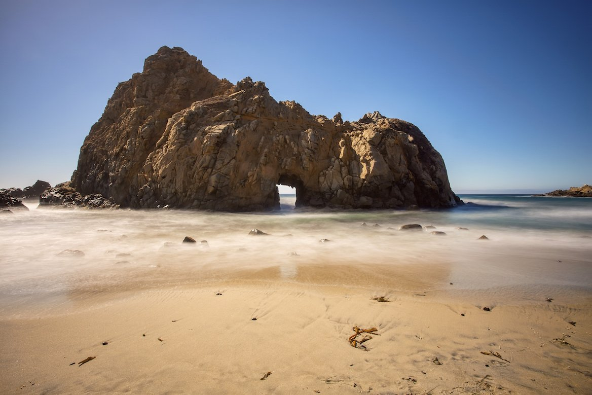 Pfeiffer State Beach Californie