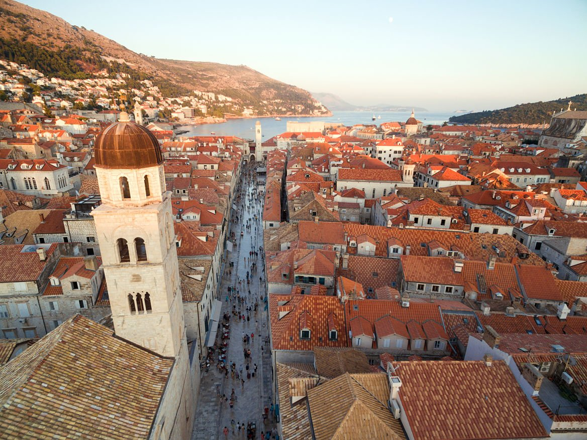 Croatie Dubrovnik soleil