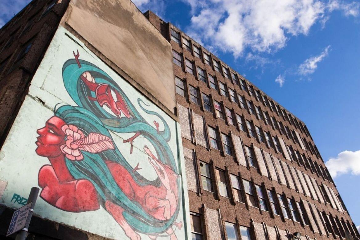 Street Art dans les rues de Belfast, Irlande du Nord ©Vio Vadrouille