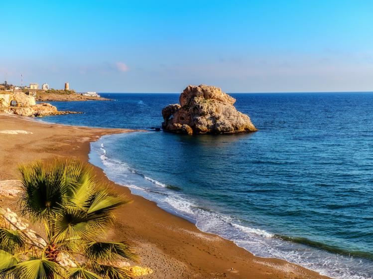 andalousie tops Playa del Peñnon del Cuervo